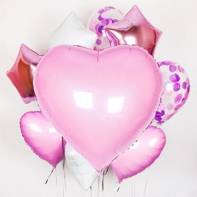 Valentýnská sada balonku #17