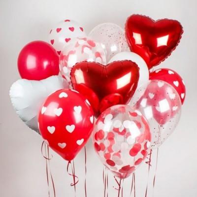 Valentýnská sada balonku #7