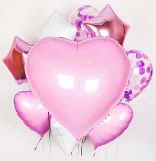 Valentýnská sada balonku #1