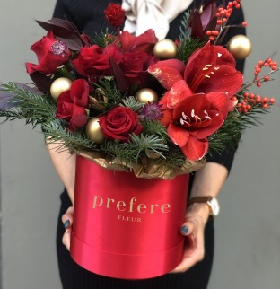 Christmas bouquet №1