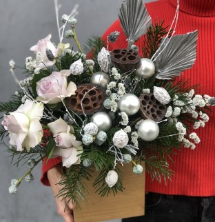 Christmas bouquet №7