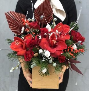 Vánoční kytice №5