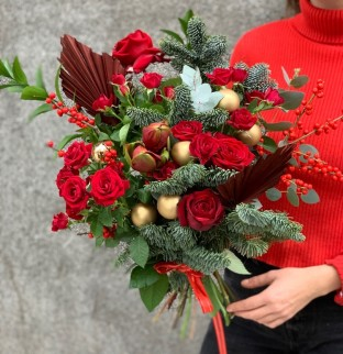 Christmas bouquet №11