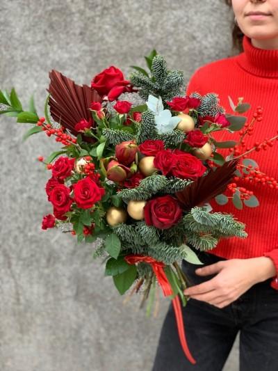 Vánoční kytice №11