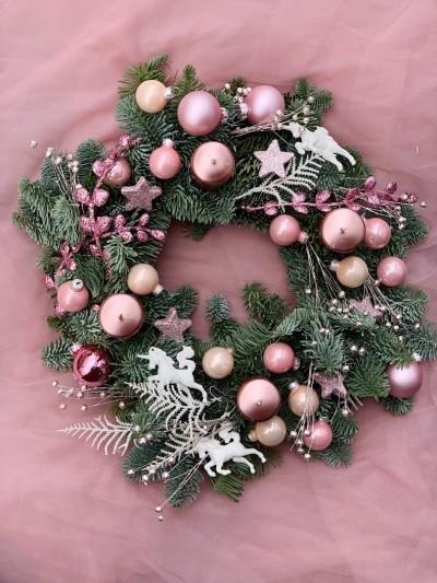 Vánoční věnec №7