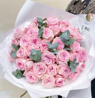 29 Garden Roses Pink O'Hara