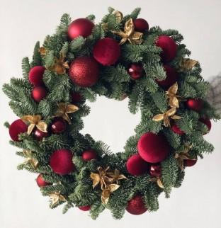 Vánoční věnec №2