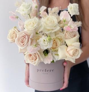 Art bouquet in a box #17