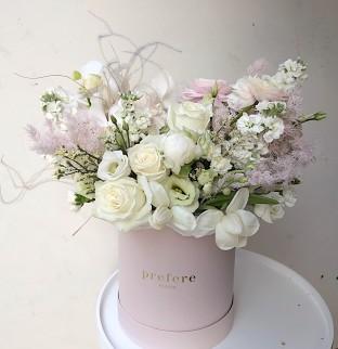 Summer art bouquet in a box #68