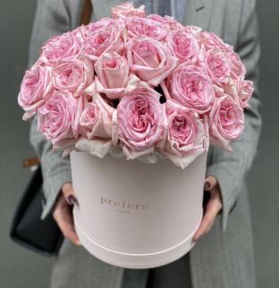 Růže v kloboukové krabici Grand