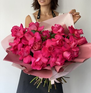 Not just pink roses