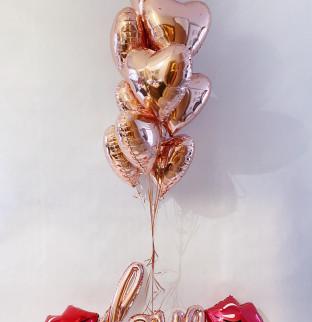 Valentýnská sada balonku #2