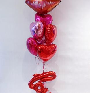 Valentýnská sada balonku #3