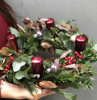 Vánoční věnec №6