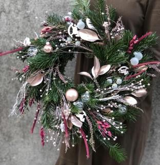 Vánoční věnec №3