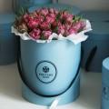 Tulipány v kloboukové krabici