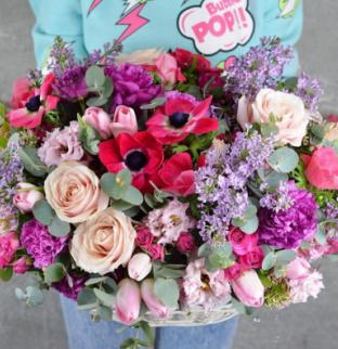 Květinový košík #4