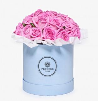 Pозы Aqua в шляпной коробке Demi